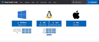 Visual Studio Code يدعم جميع أنظمة التشغيل