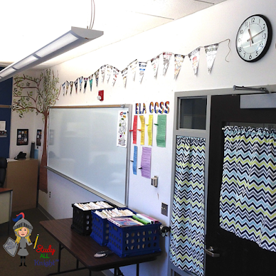 Take a video tour of your classroom. Pan around your classroom to show families your classroom bulletin boards. Open the shades, blinds, or curtains to bring in outside light. If you do not have windows, make sure your lights are on while filming.