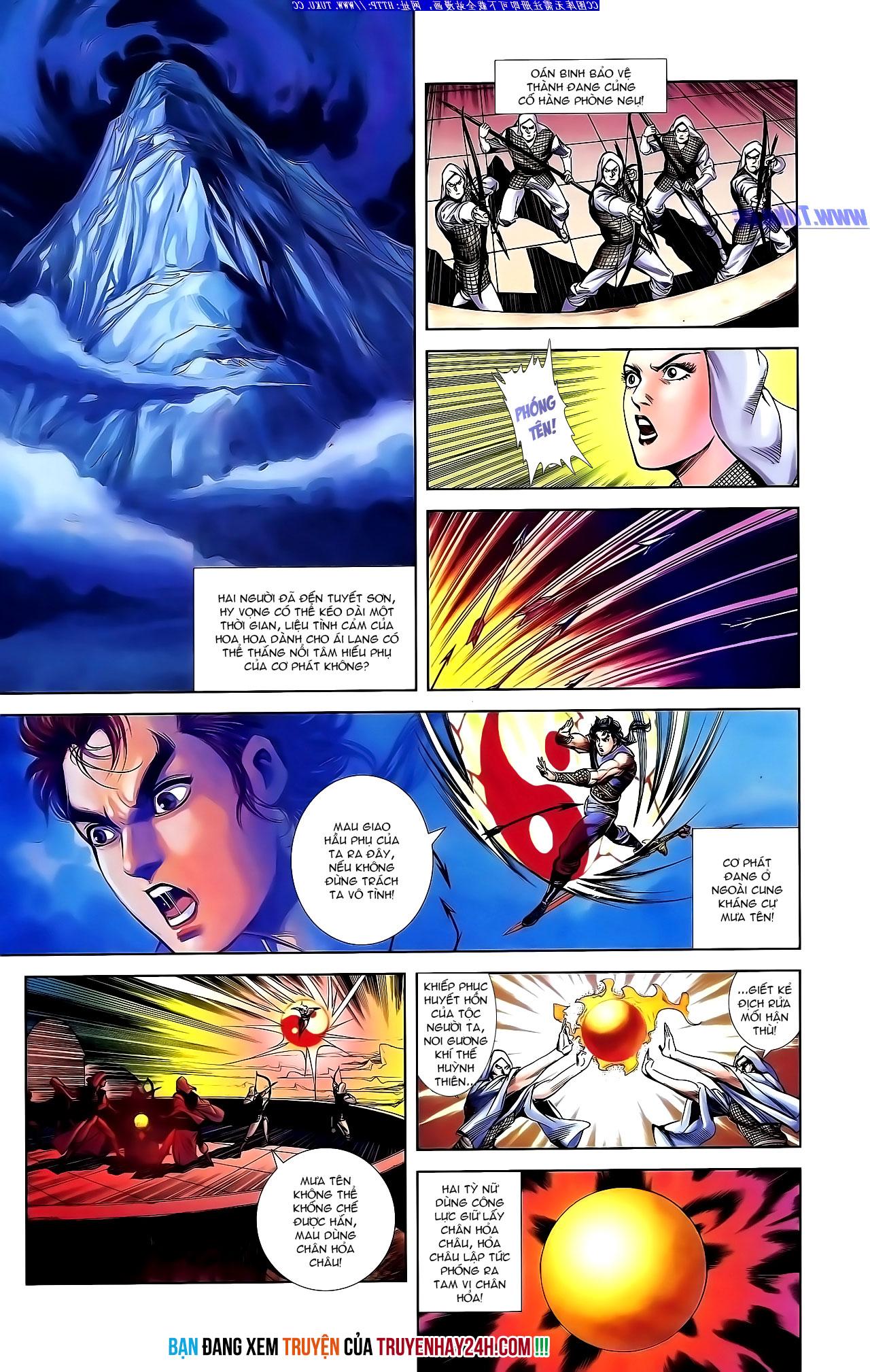 Cơ Phát Khai Chu Bản chapter 142 trang 29
