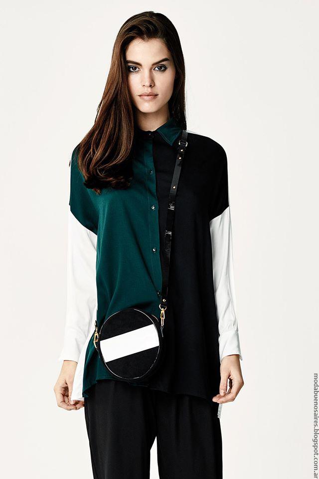 Camisas invierno 2016 ropa de mujer Naima. Moda otoño invierno 2016.