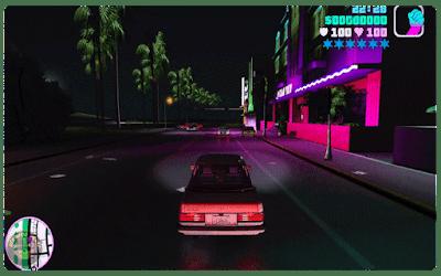 GTA VC AI Enhanced textures