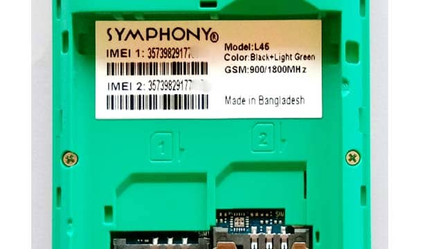Symphony L46 Flash File Download