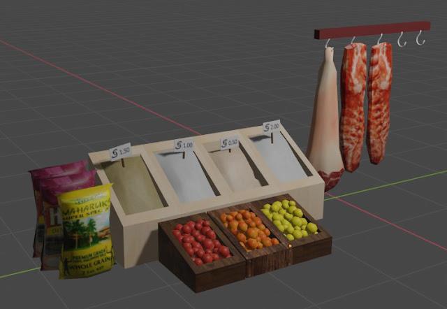 Sims 4 Pinoy Stuff Pack Talipapa Items