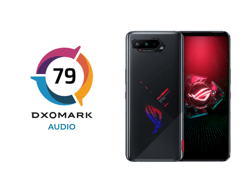 ASUS ROG Phone 5 Audio reviewed by DxOMark ahead of launch, beats all other phones