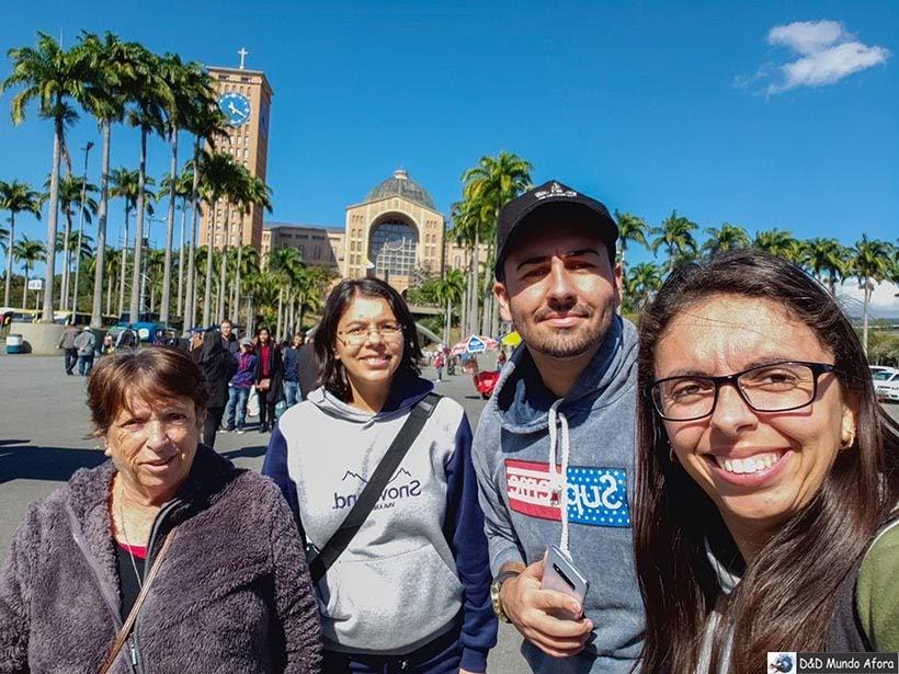 Passeio em 2019 - O que fazer em Aparecida - São Paulo
