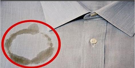 اسرع طريقة وأسهلها لإزالة البقع الزيتية عن الملابس و جعلها تبدو كأنها لم توجد أبدا