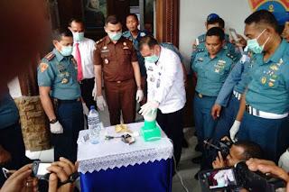Tak ada Ampun Seorang  Prajurit TNI AL di Lhokseumawe Dipecat karena Narkoba