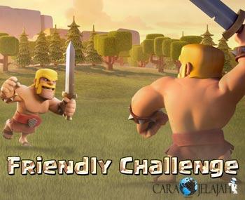 Fitur Friendly Challenge dapat melakukan simulasi serangan antara pemain