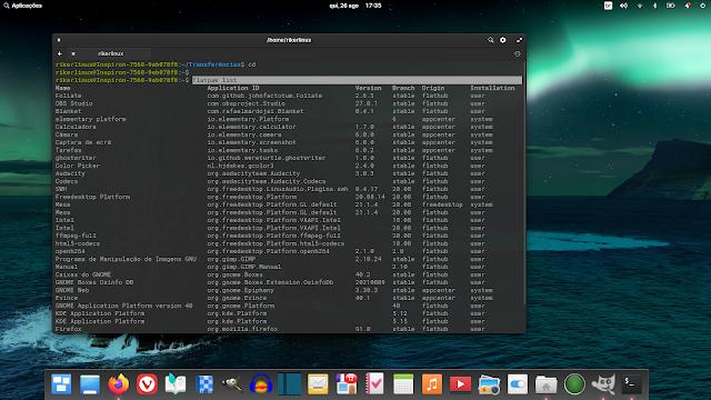 Elementary OS 6 vêm cheio de flatpak no sistema