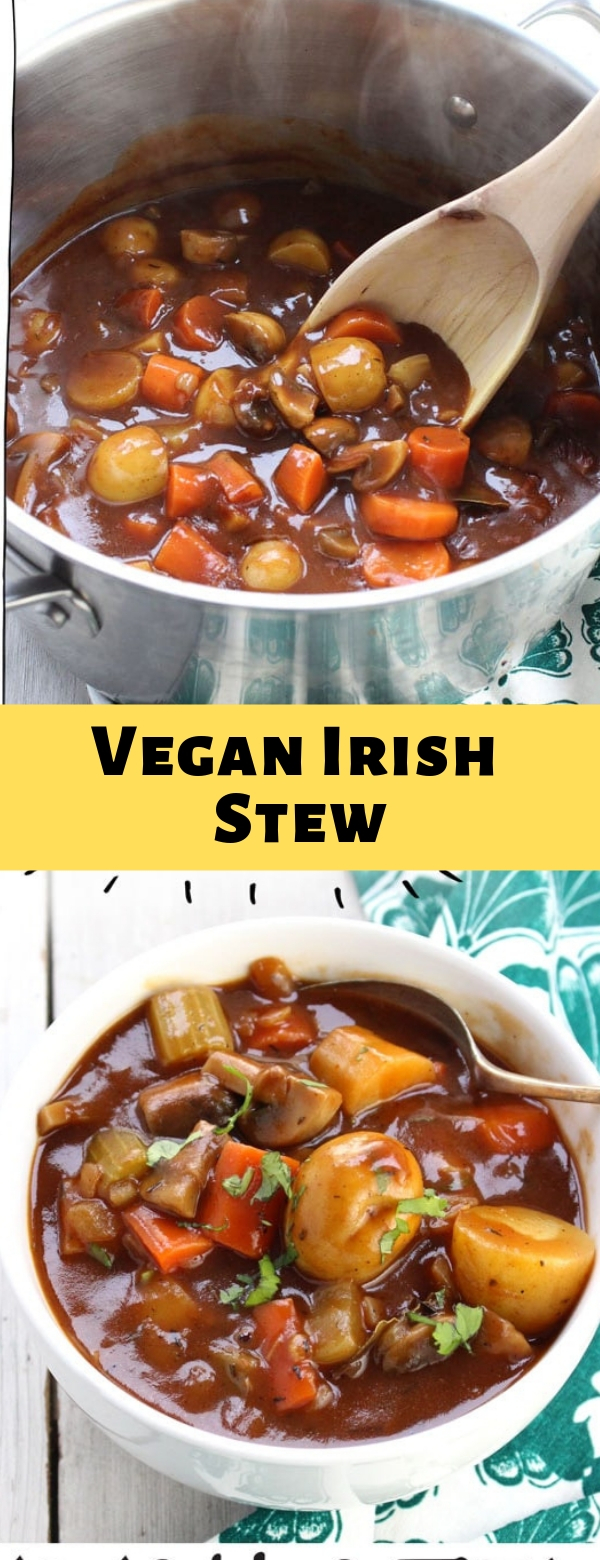 Vegan Irish Stew #vegan #stew