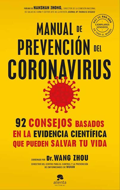 Manual de prevención del coronavirus (Ed.Alienta)