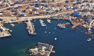 Aasiaat Island, Groenlandia