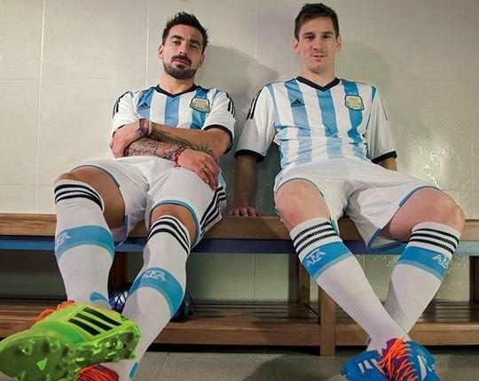 Jersey Adidas Argentina Jersey Piala Dunia Argentina