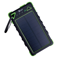 Zzero Portable Solar Panel Charger 8000Amh Dual Usb Port for Outdoor