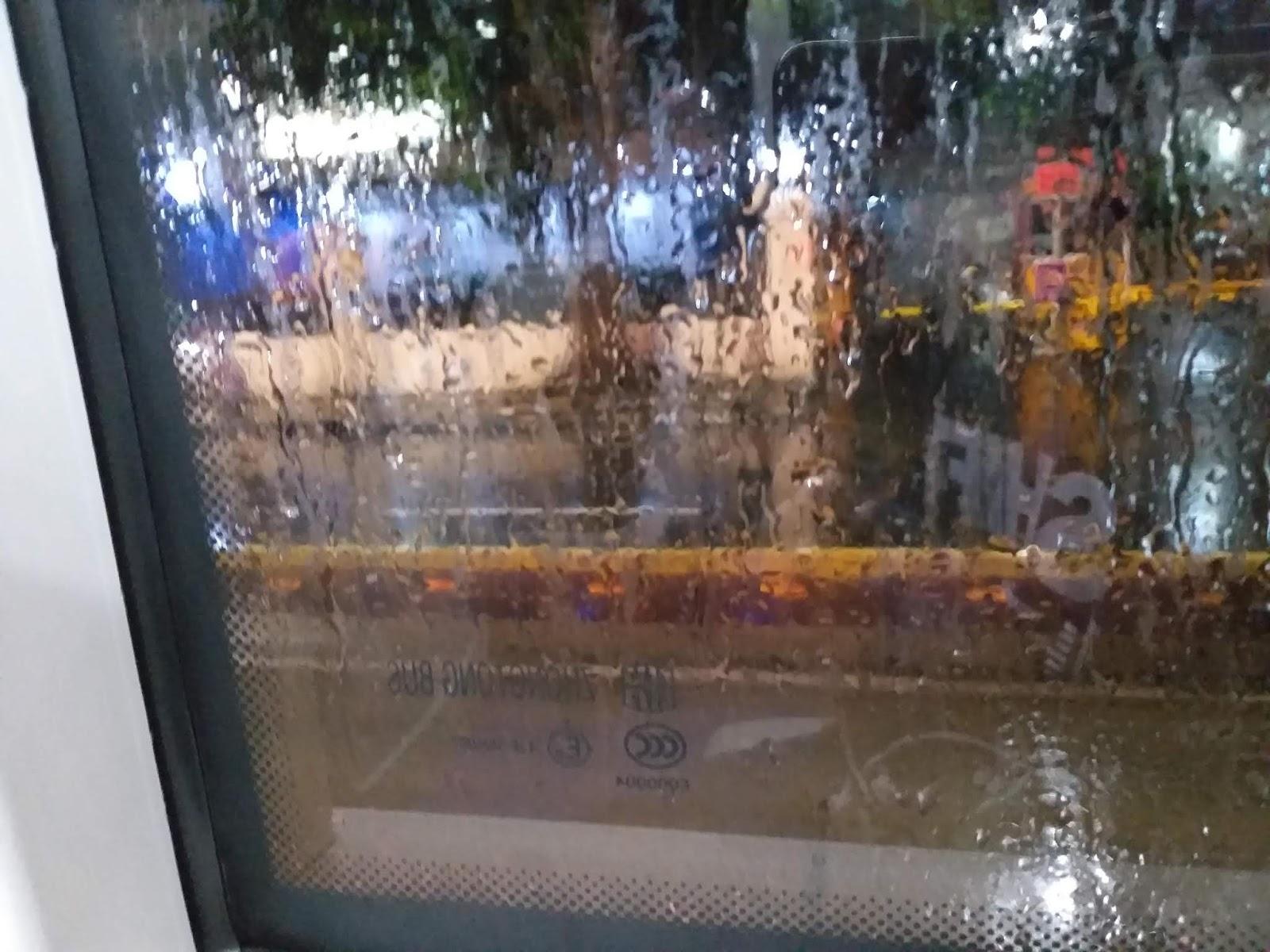Tahun Baru 2020 Jakarta Dilanda Hujan Deras dan Macet