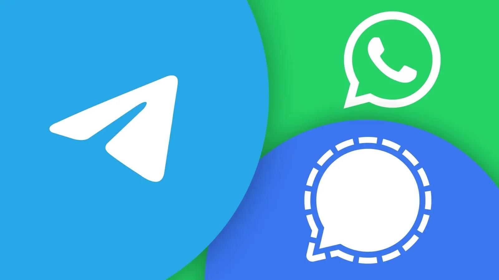 كيفية إرسال رسائل مختفية على WhatsApp و Telegram و Signal