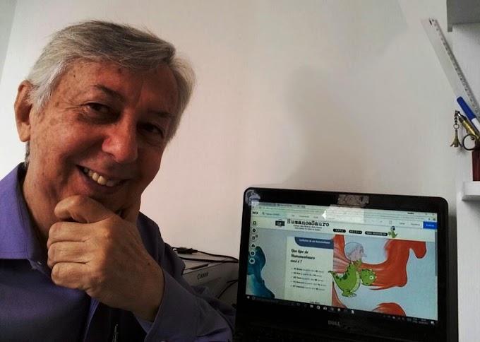 Cartunista e servidor aposentado de Olinda lança blog Humanossauros