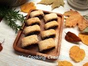 Маслени бисквити със сладко от смокини и орехи * Settembrini