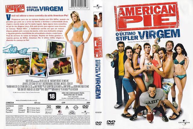 Capa DVD American Pie O Último Stifler Virgem