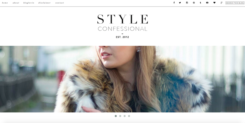 lifestyle, fashion, beauty, Style Confessional, favourites, current obsession, blogs, websites,