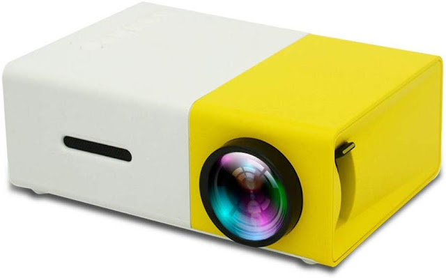 Home, Party, Meeting, Theater Full Color LED LCD Projector