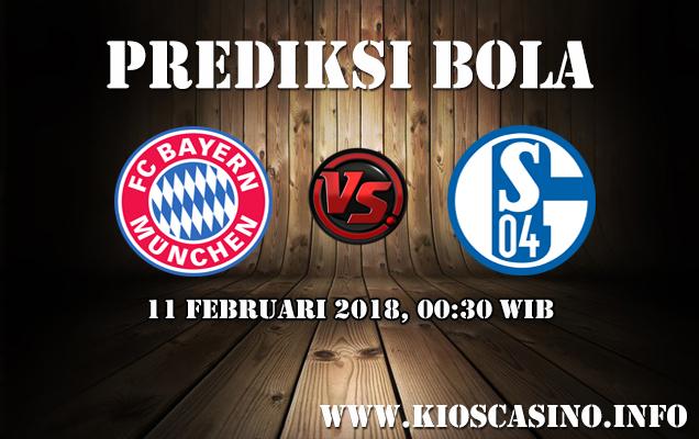 Prediksi Bayern Munchen vs Schalke 04 11 Februari 2018