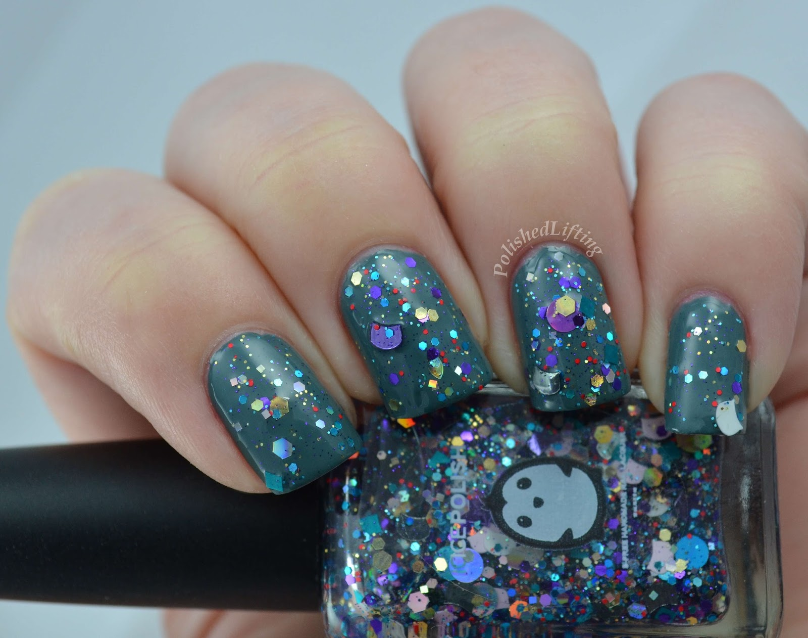 Ice Polish Meow-di Gras Essie School of Hard Rocks