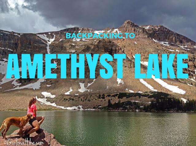The Best Backpacking Trips in the Uintas, amethyst lake uintas