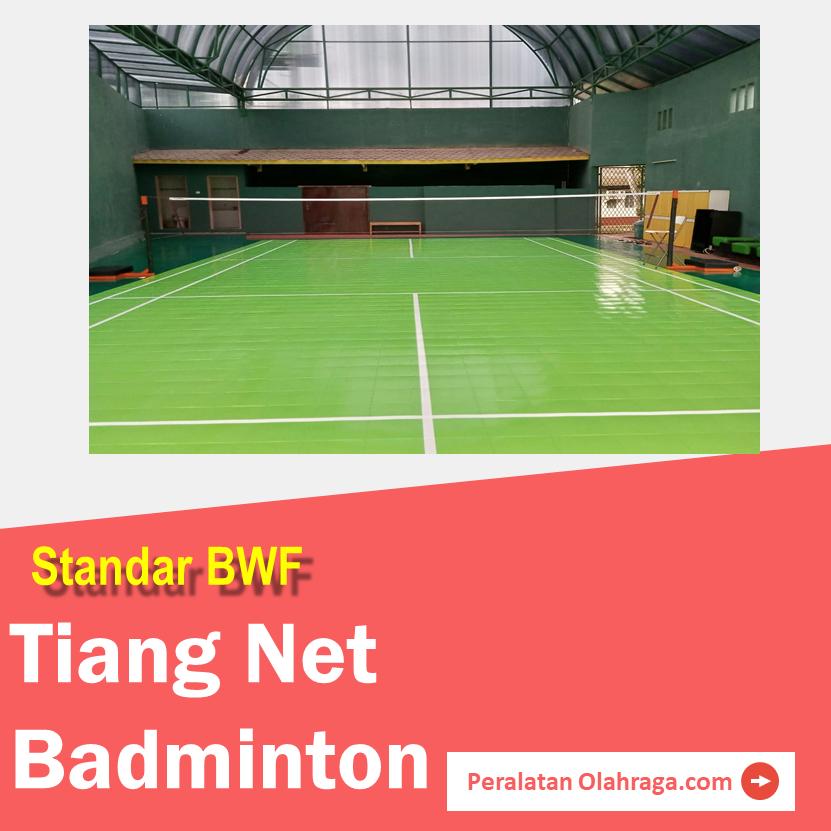Tiang Net Badminton Standar BWF