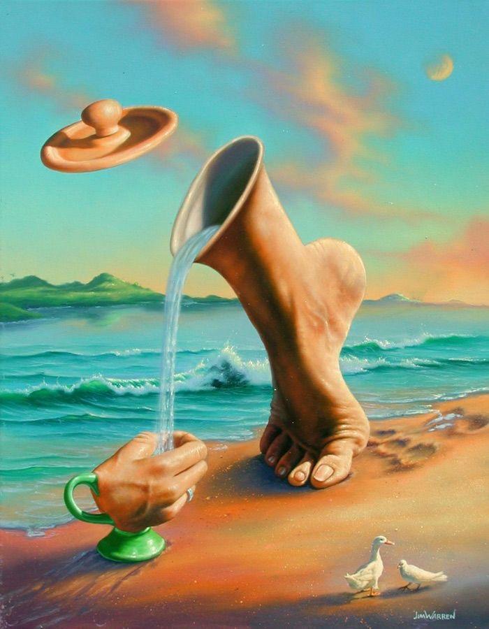 Arte Surreal Fantástica
