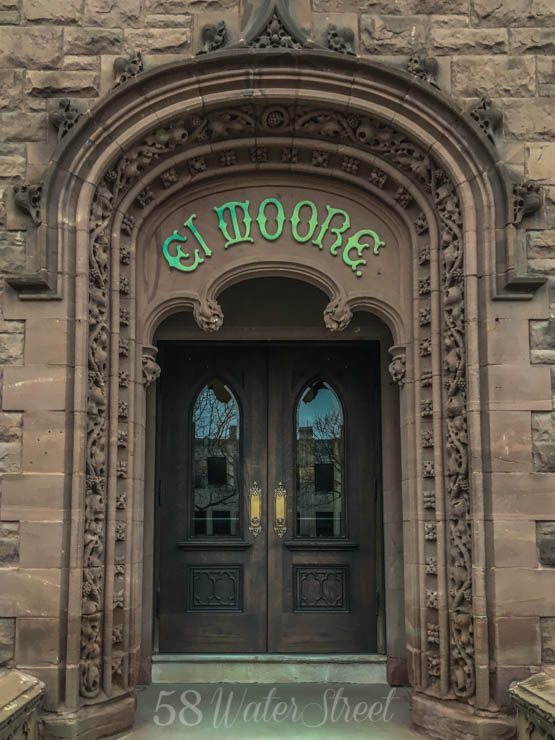 El Moore lodge, Cass Corridor, Detroit, historic building, preservation