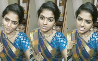 Goli Soda Actress Chandhini Cute Dubsmash Tamil