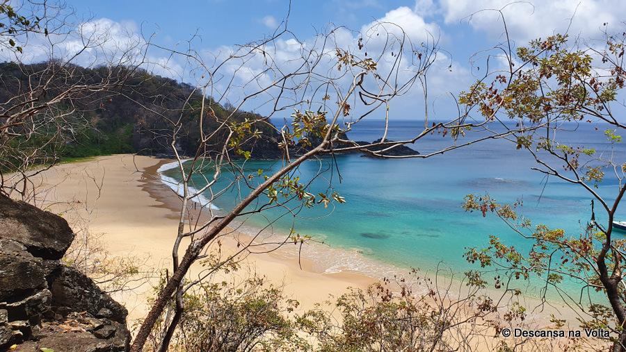 Baía do Sancho Fernando de Noronha