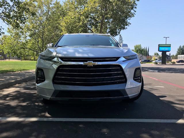 Front view of 2019 Chevrolet Blazer Premier AWD
