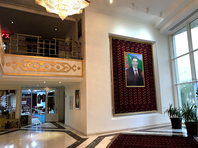 トルクメニスタンの首都アシュガバードにあるGrand Turkmen Hotel