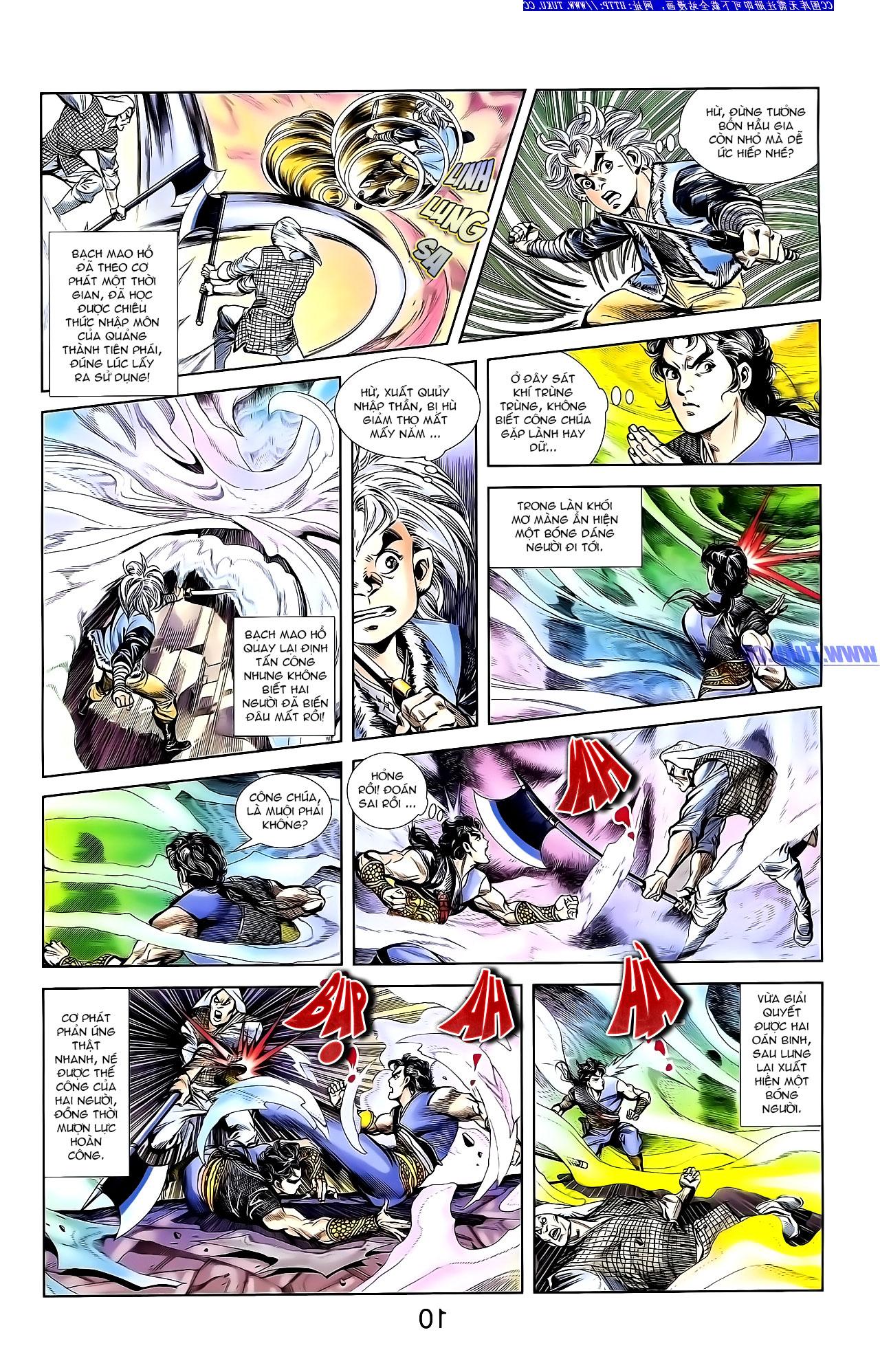 Cơ Phát Khai Chu Bản chapter 142 trang 18