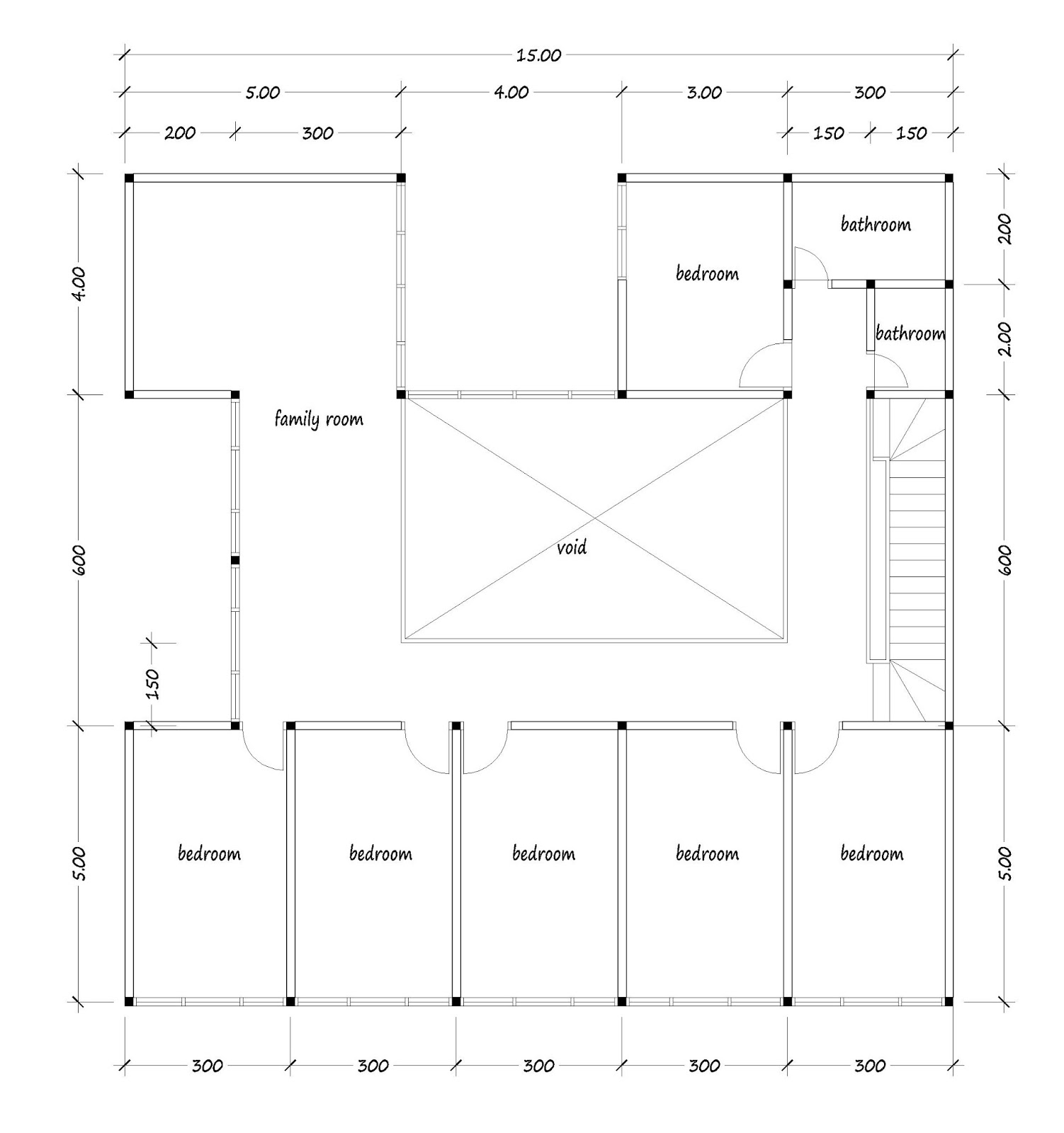 Appealing 300 square meter house plan gallery exterior for 300 square meter house plan