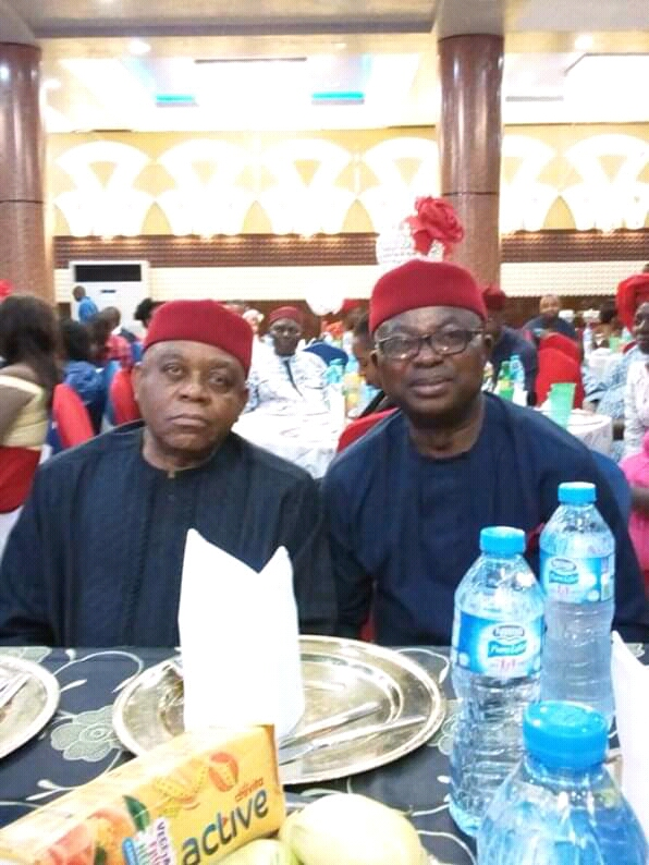 DISCLAIMER: Rep. Onuigbo Blows Hot: T.A Orji, Ikuku Cannot Decide My Return To The National Assembly