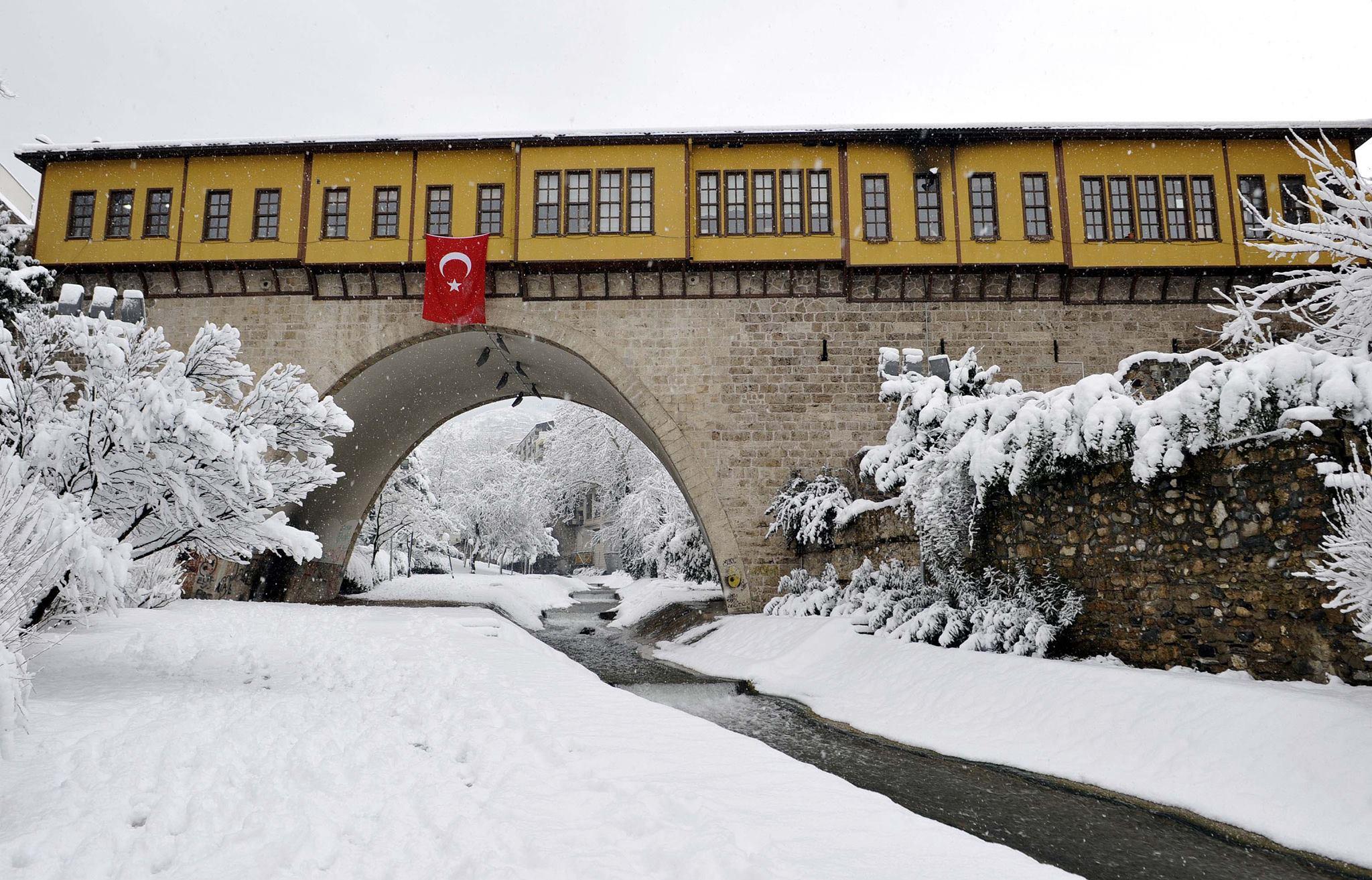 bursa'nın gezilecek tarihi yerleri ırgandı köprüsü