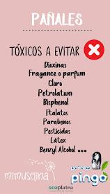 blog mimuselina elementos tóxicos que no debería llevar un pañal