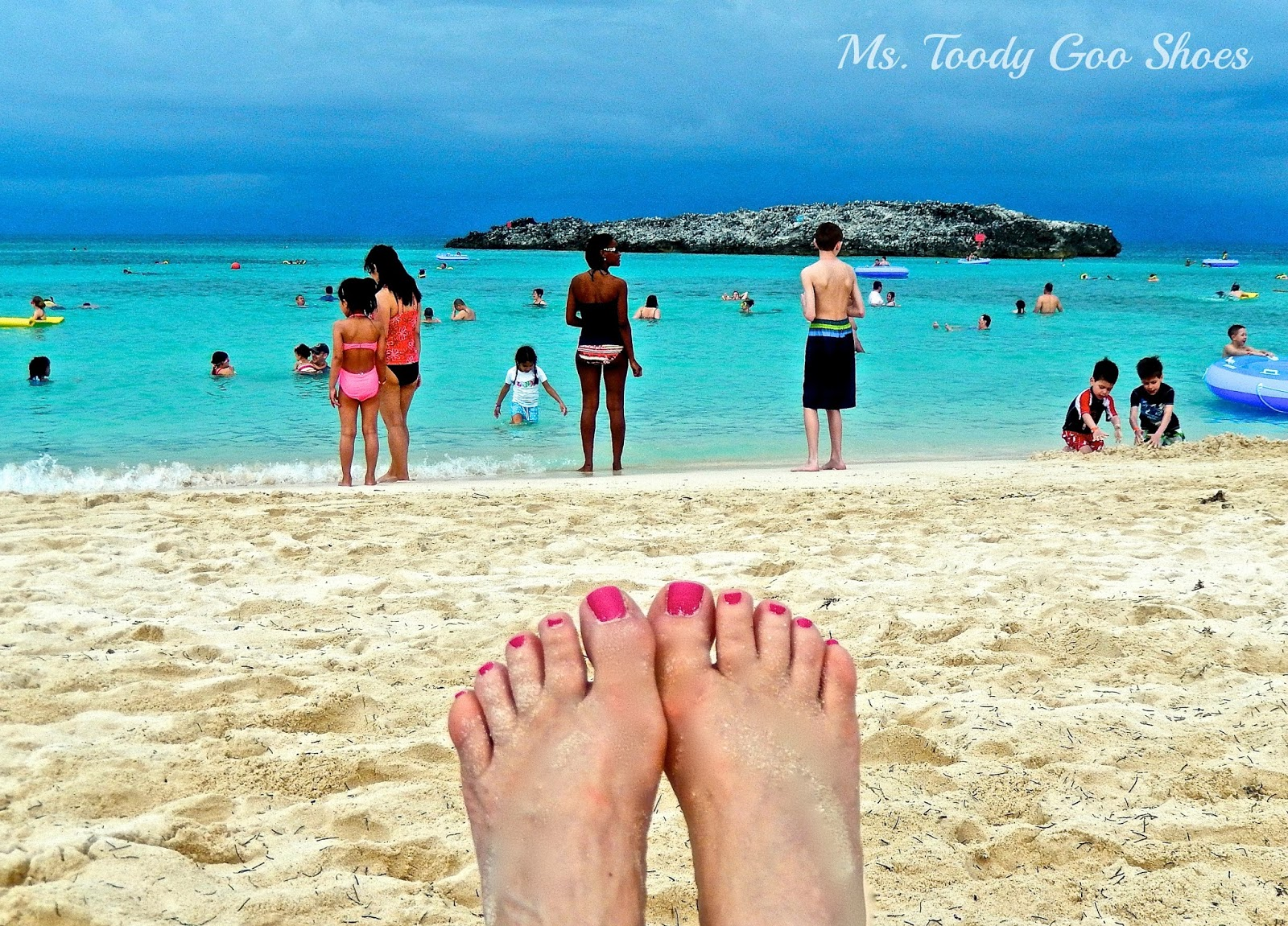 Great Stirrup Cay: Norwegian Breakaway Cruise Ship  --- Ms. Toody Goo Shoes