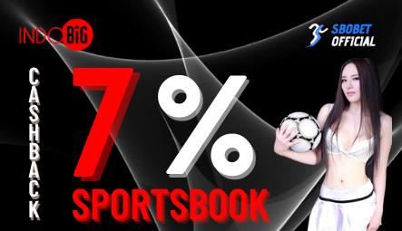 Cashback Sportsbook Agen SBOBET Online Terpercaya