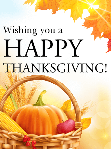 Happy Thanksgiving Cards