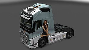 Angelina Jolie paint job for Volvo 2012