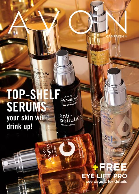 Avon Campaign 4 2020 The Brochure Online - TOP-SHELF SERUMS