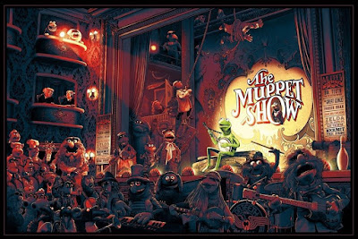 "The Muppets ""Time to Light the Lights"" Screen Print by Ape Meets Girl (Kevin M Wilson) x Hero Complex Gallery"