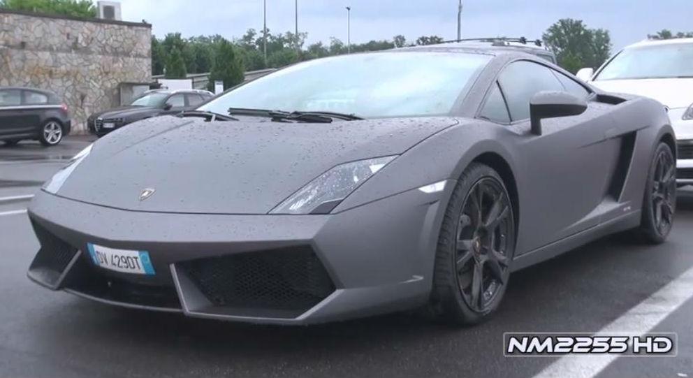 Lamborghini Gallardo Lp560 4 With Tubi Exhaust Sound World News Cars