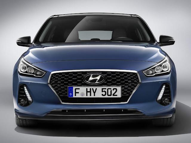 Novo Hyundai i30 2017 - frente