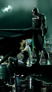 Batman Seeing Gotham Mobile HD Wallpaper