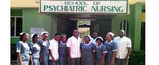 School of Psychiatric Nursing, Abeokuta Admission Form - 2018/2019